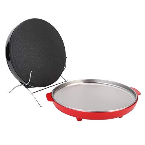 SISHUINIANHUA Non-Stick Électrique Maker Pizza Pan Crêpes De Cuisson Plaque De Cuisson Automatique Rouleau De Printemps Pie Friture Steak Cooker Roaster