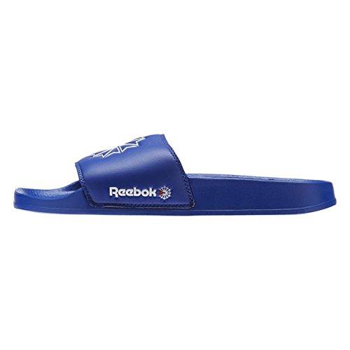 Reebok Unisex-Kinder Classic Slide Dusch- & Badeschuhe, Blau (Sc/Collegiate Royal/White/Excellent Red 000), 37.5 EU