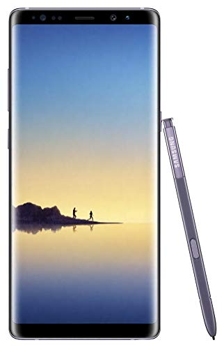 Samsung Galaxy Note8 N950U 64GB Unlocked GSM LTE Android Phone w/ Dual 12 Megapixel Camera - Orchid...