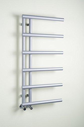 Kristiansund Handtuchheizkörper 988 x 500 - Silber