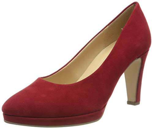 Gabor Shoes Damen Fashion Pumps, Rot (Cherry 55), 39 EU