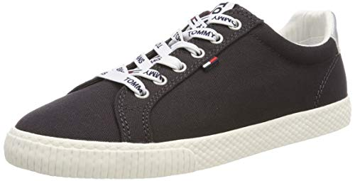 Hilfiger Denim Damen Tommy Jeans Casual Sneaker, Blau (Midnight 403), 41 EU