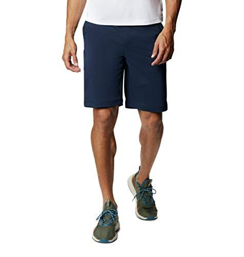 Columbia Pantaloncini da Trekking da Uomo Tech Trail, Uomo, Pantaloncini da Escursionismo, 1883371, Navy Collegiate, W30/L8