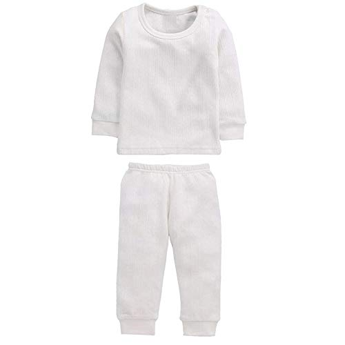 Neva Baby Boys & Girls Winter Thermal Wear and Lower Body Warmer Set Pack of 1