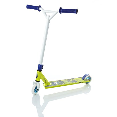 Damaged D-Tox Stunt Scooter, Lime