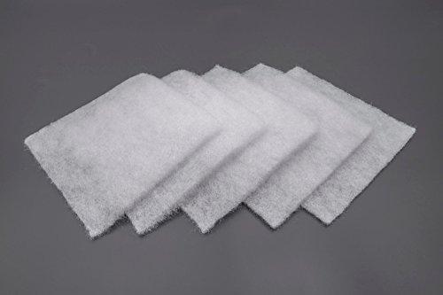 vhbw 5x Filter passend für Lunos Saphir Abluftgerät Lüftungsgerät Badlüfter - 180 x 180 mm - Ersetzt 2/FSA, 034 185, 34185 - (5er Pack) Zubehör