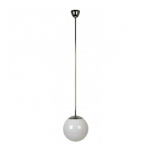 HL 99 Bauhaus - Lámpara de techo (cromo brillante, 30 cm de diámetro)