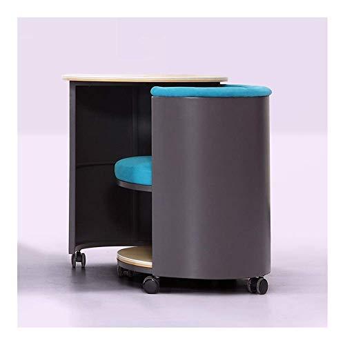 AJH Mobile Metallsofa Klapp Lazy Beistelltisch Kaffee Laptop Ständer Rahmen Rollen Rollen Lagerung für Wohnzimmer Kissen Büro Indoor Sofa