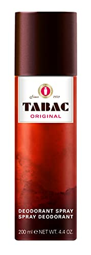 Tabac® Original | Deodorant mit dem unverwechselbaren Duft von Tabac Original - 24 Stunden Deo-Schutz - Original Seit 1959 | 200ml Aerosol Spray