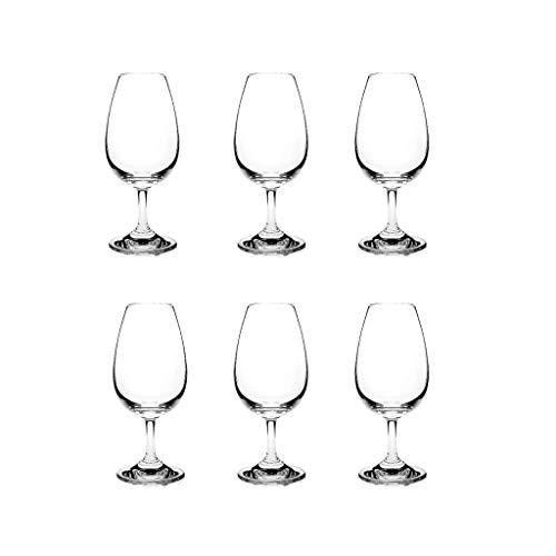 ZHIHUI Weingläser Rotweinglas Set Feines Becher Premium-Kristallglas Great Für Grand Cocktail Party-Weingut Oder Ausstellung (Quantity : 6)