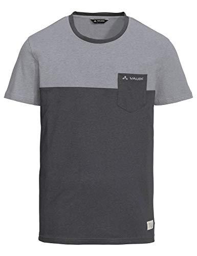 VAUDE Men's Nevis Shirt III Tee-Shirt Homme Grey-Mélange FR: XL (Taille Fabricant: XL)