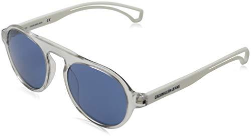 Calvin Klein Jeans Ckj19502s Occhiali da Sole, Bianco, One Size Unisex-Adulto