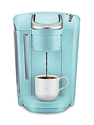 Keurig K-Select Coffee Maker, Single Serve K-Cup Pod Coffee Brewer, With Strength Control and Hot Water On Demand, Oasis