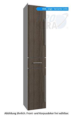 PURIS Classic Line Armadio Alto (hna053a7ml/R) Mobile da Bagno, 30cm