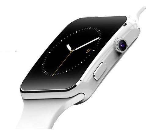 JDTECK OPPO A9 Watch Connected, SmartWatch SIM/TF (Micro SD), Cámara incorporada, Transmisor Bluetooth, Cámara y Touch Smart, Tracker Fitness Impermeable Compatible con su OPPO A9