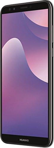Huawei Y7 2018 Dual-SIM Smartphone BUNDLE 15,2 cm (5,99 Zoll) (3000mAh Akku, 16 GB Speicher, Android 8.0), schwarz + gratis 16 GB Speicherkarte [Exklusiv bei Amazon]
