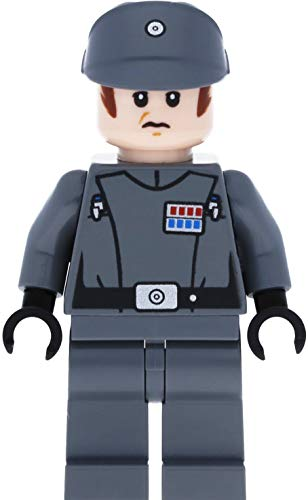 LEGO Star Wars - Minifigura del Imperial Officer (Major, Oficial Oberst) con Blaster