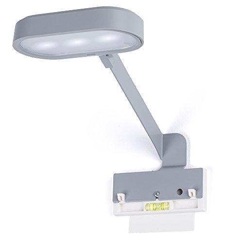 Reverse Magneet rmf-lcg Kit lamp aangesloten Bluetooth + wandbevestiging kunststof grijs 10 x 2 x 14 cm