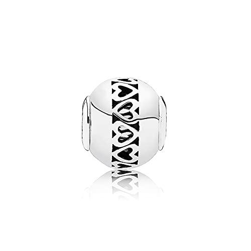 Pandora 925 Charm Silver Bead Love Fashion Womenessence Pulsera Brazalete Regalo Diy Jewelry