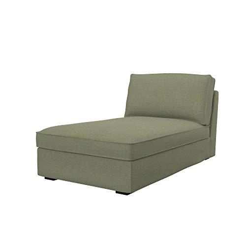 Soferia Funda de Repuesto para IKEA KIVIK chaiselongue, Tela Elegance Taupe, Beige