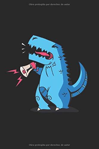 Rugido Trex: T rex notepad rugido regalo