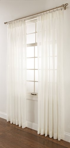 """Stylemaster Splendor Pinch Pleated Drapes Pair, 2 of 60"""" by 84"""", Beige"""