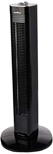 Ventilador Torre Turbo Wind, 127v Britânia Preto