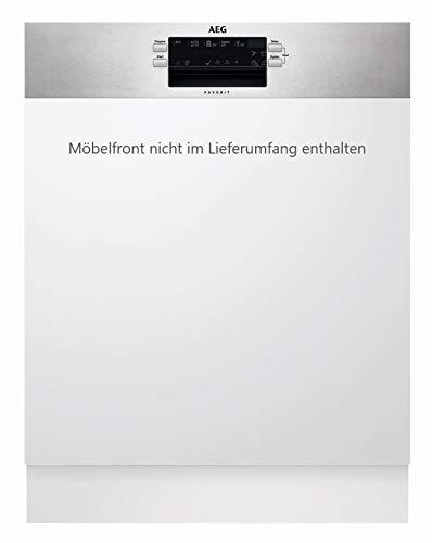 AEG FES5360CZM Spülmaschine Integrierbar 13 Stellen A+++ - Spülmaschinen (Integrierbar, Gesamtgröße (60 cm), Edelstahl, Knöpfe, kalt, Heiß, Korb)