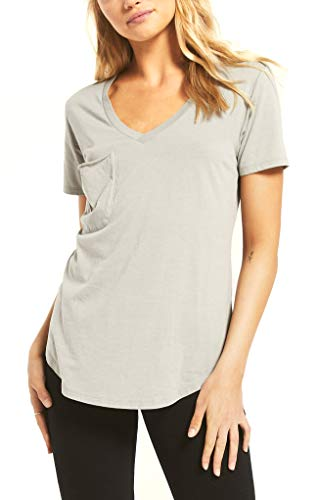 Z Supply The Pocket Tee in Sage Mis (Small)