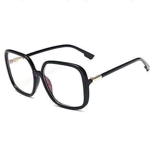GEMSeven Gafas De Miopía Anti-azul Con Montura De Pc Para Mujeres Y Hombres, Montura De Gran Tamaño, Gafas De Dioptría Miope