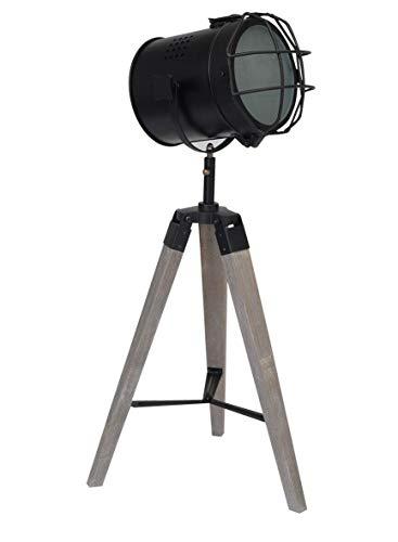 REPLOOD Projecteur - Lámpara de pie de 70 cm de altura, trípode con faro de 15,5 cm