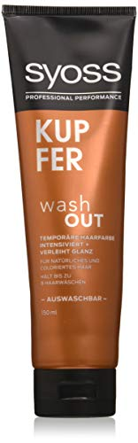 Syoss Wash Out koperen niveau 0, (150 ml) koper