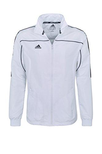 adidas Herren Jacket Teamwear, Weiß, XS
