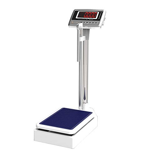 CXF High-Precision Digital Body Weight Scale with Mechanical Height Rod, Electronic Physician Scale, Hd Display - Beam Scale,200kg/190cm