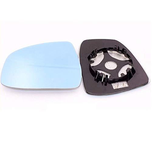 WHJIXC para Ford Focus MK2 MK3, Espejo retrovisor con atenuación automática de visión Amplia, Vidrio de Espejo con calefacción Azul