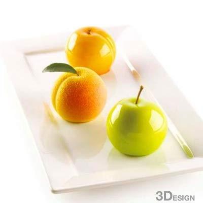 Silikomart 26.300.13.0065 ISPIRAZIONI DI Frutta siliconen vorm