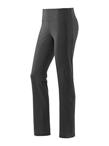 Joy Sportswear Trainigshose Ester für Damen | Sporthose mit Shaping-Effekt | sportliche Freizeit- & Funktionshose mit kleinen Innentaschen in Passform für den Alltag W84 Langgröße, Black