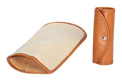 Handmacher polijsthandschoen | Kwaliteit en verzorging lederen schoenen | Kleur Cognac
