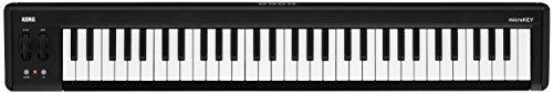 KORG 定番 USB MIDIキーボード microKEY2-61 音楽制作 DTM 省スペースで自宅制作に最適 すぐに始められるソフトウェアライセンス込み ダンパーペダル使用可 61鍵