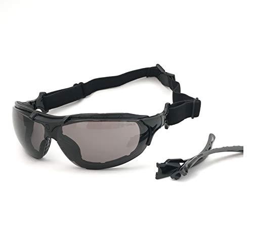 Óculos SOL Proteção ESPORTIVO STEELFLEX ROMA FUME Esportivo AIRSOFT Teste Balístico Paintball Resistente A Impacto Ciclismo VOLEY FUTVOLEY ESPORTES DE AVENTURA