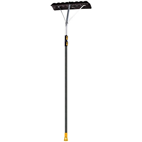 Buy Bargain The 193055510 24 in. Telescoping Snow Roof Rake with Aluminum Handle, 17-Foot