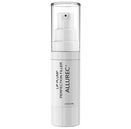 ALLUREC Lip Plump Perfection Filler. Lip Lines & Wrinkles Around Mouth Repair Anti Aging Lip Treatment. Lip Plumping Moisturizing Peptides Serum for Softer, Smoother, Fuller, Younger Look Lips.