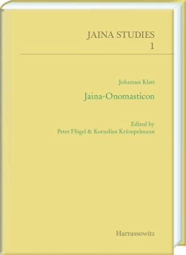 Jaina-Onomasticon (Jaina Studies) (German and English Edition)