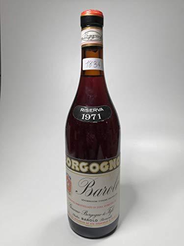Vintage Bottle - Borgogno Barolo Riserva 1971 0,75 lt. - COD. 1834