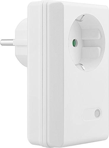 mumbi 25156 3600 Watt Funksteckdose Erweiterung 4-Kanal Set der Serien FS306 / FS300 / FS600-Plug & Play 1 Funkschalter, 230 V