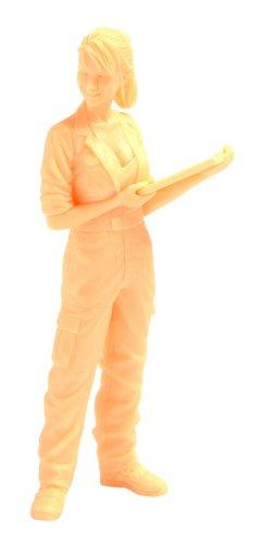 ブリック・ワークス マシーネンクリーガー Ma.K.女性整備士 B マルティナ技士 1/20スケール レジンキャスト組立キット