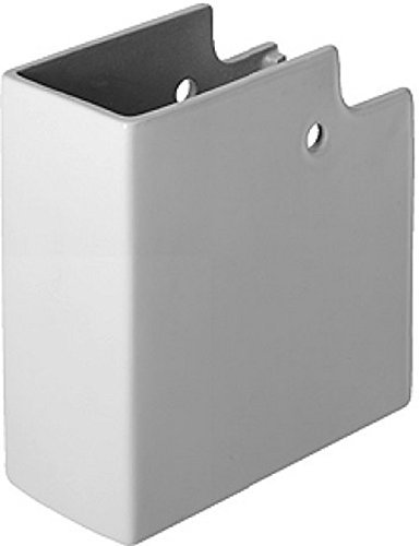 Duravit 0857160000 Siphon Cover Second Floor for Washbasin 049170/049160, White by Duravit