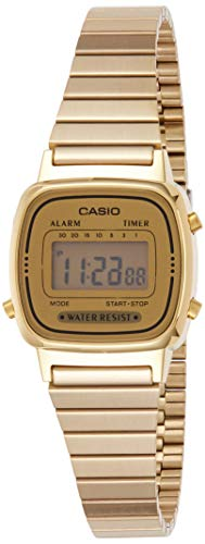 Casio Damen Digital Armbanduhr LA670WGA9D