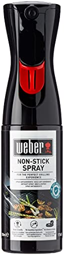 Weber 17685 Antihaft Spray , Grillrost-Pflege, Non-Stick Spray, 200 ml