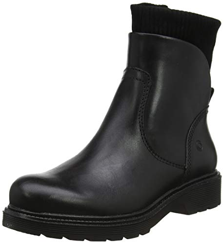 Be Natural Damen 25406-21 Stiefeletten, Schwarz (Black 001), 38 EU